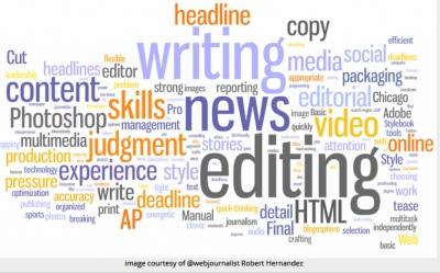 Editing. By @webjournalist Robert Hernandez