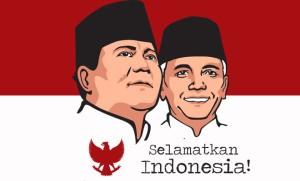 """Logo Capres Cawapres """"Prabowo - Hatta Rajasa"""" (courtesy of mediaprabowo.com)"""