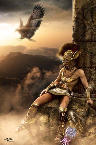 http://isikol.deviantart.com/art/HERMES-GREEK-GODS-PROJECT-291829237