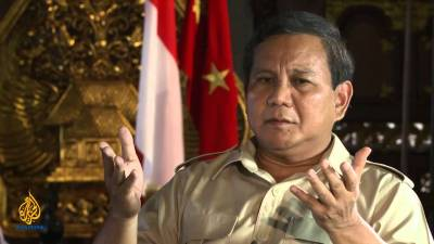 "Prabowo on ""Talk to Al Jazeera"""