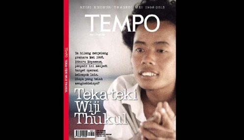 Wiji Thukul (Dok. Tempo)